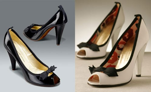 The Look for Less: Marc by Marc Jacobs Patent Bow Pumps
