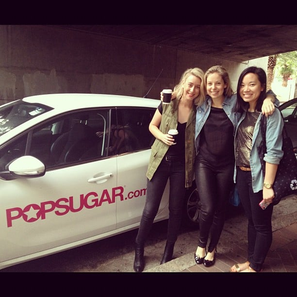 Check out our wheels! The Sugar team arrived at the office in style, thanks to our customised Peugeot.