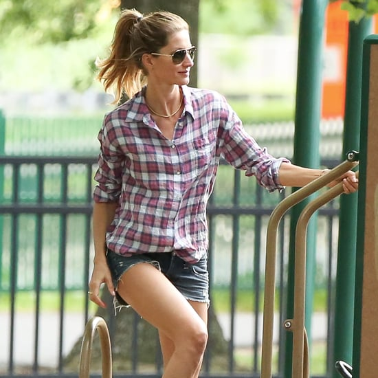 Gisele Bundchen at the Park in Boston | Pictures