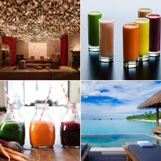 Take Your Juice Habit on the Road: Hotels Where You Can Detox
