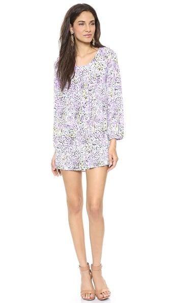 Tbags Long Sleeve Mini Dress ($176)