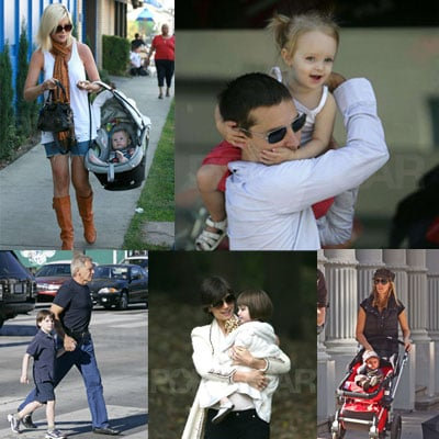 Celebrities and Their Babies Over the Weekend 2008-10-27 15:00:16