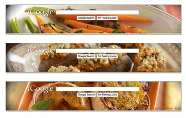 Google Introduces Tasty iGoogle Themes