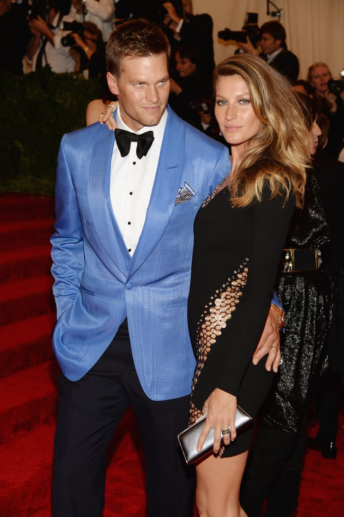 Tom Brady and Gisele Bündchen brought their hotness to the Met Gala.