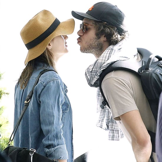 Adam Brody and Leighton Meester Kissing in South Africa