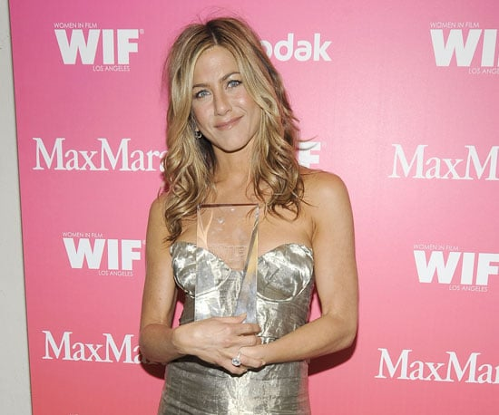 Slide Photo of Jennifer Aniston at the Women In Film 2009 Crystal Awards