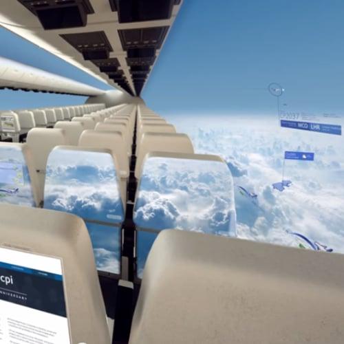 Windowless Plane Pictures