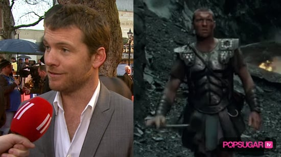 Sam Worthington at the London Premiere of Clash of the Titans