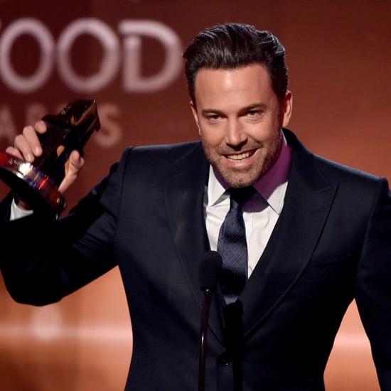 Ben Affleck at the Hollywood Film Awards 2014 | Video