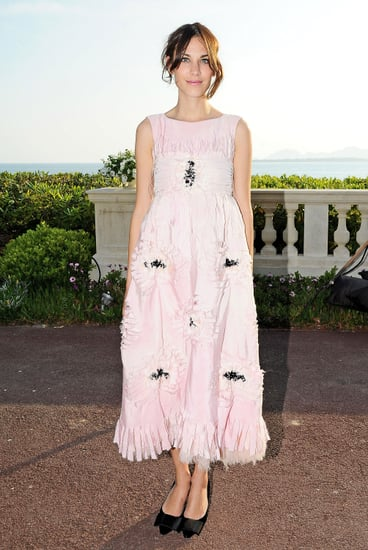 Rather-than-counter-femme-pink-Chanel-frock-pair