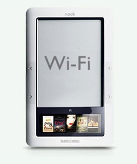 New Nook With WiFi Only