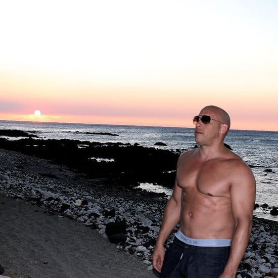 Vin Diesel Shirtless Instagram Picture January 2016