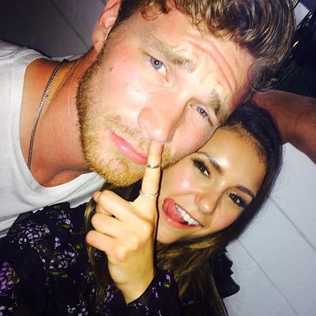 """Nina also reportedly """"made out"""" with Derek Theler at another party (we really hope this is true, because he is crazy hot)."""