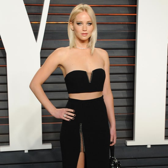 Jennifer Lawrence's Dress at Vanity Fair Oscar Party 2016