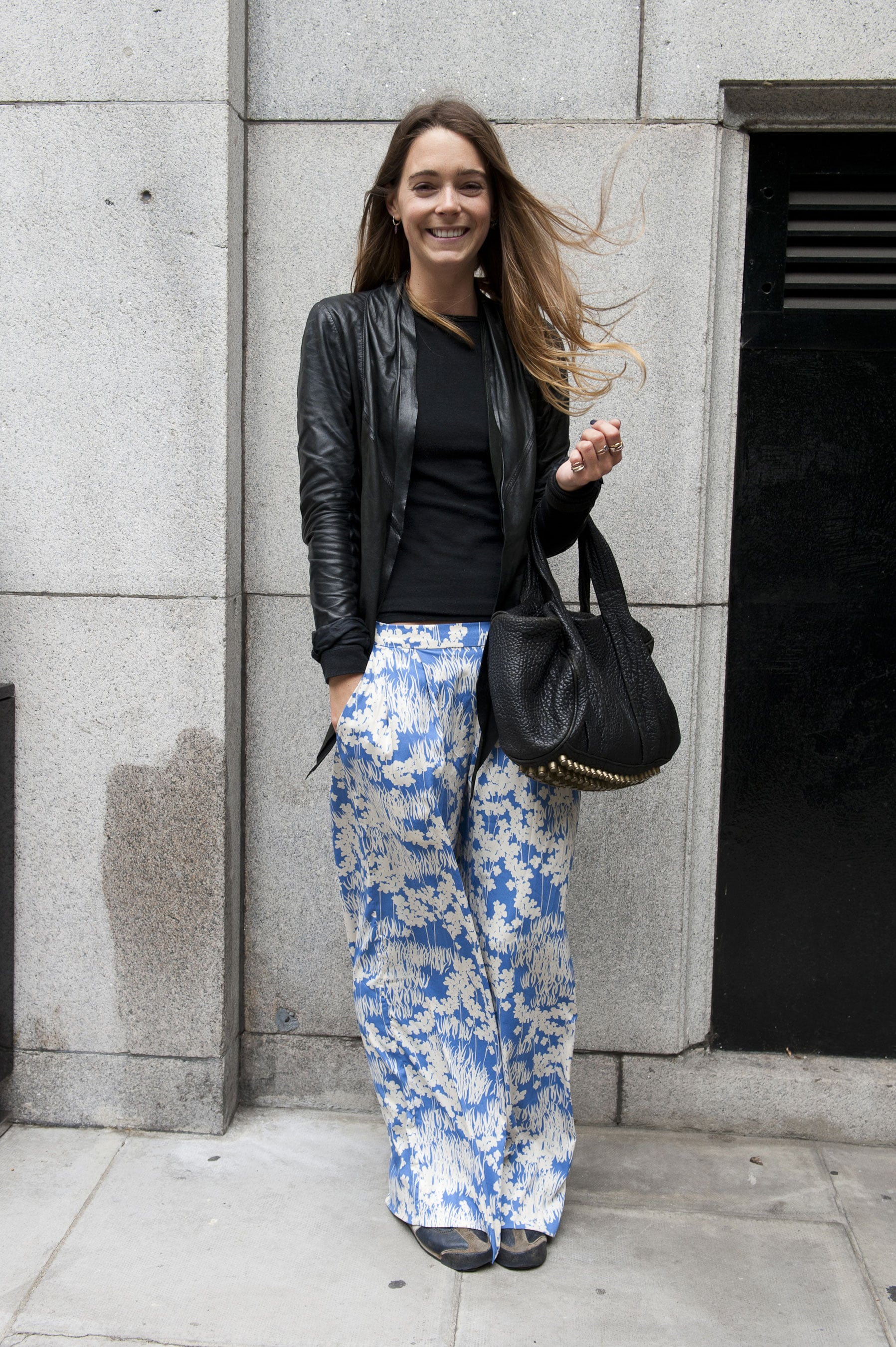 You have to smile when you see those pants.