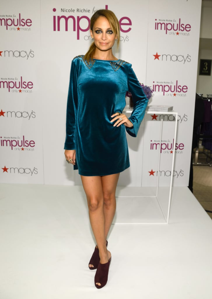 Nicole Richie Launches Her Macy's Line During a Whirlwind NYC Trip