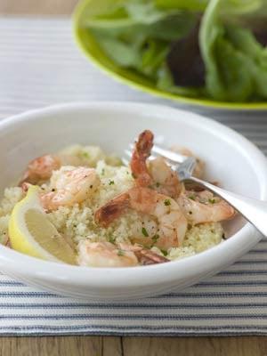 Monday's Leftovers: Sautéed Shrimp & Couscous
