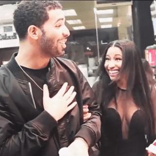 Drake and Nicki Minaj Buying Snacks Together   Video