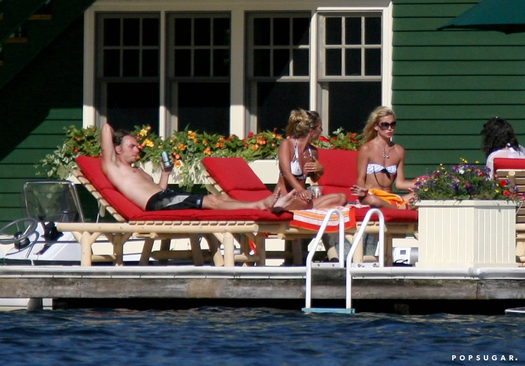 Kate vacationed in Canada in the Summer of 2007 with then-boyfriend Dax Shepard.