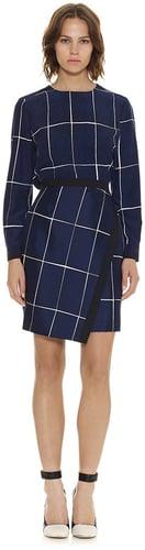 Lara Slate Print Wrap Skirt