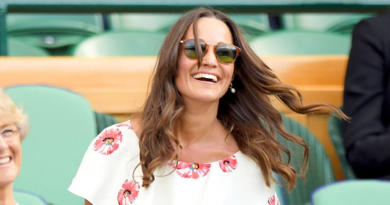 Pippa Middleton Puts a Fresh Spin on Tennis Whites in Leggy Dress at Wimbledon