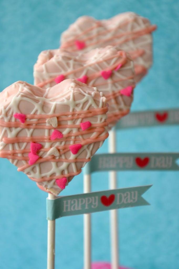 No-Bake Heart Cake Pops