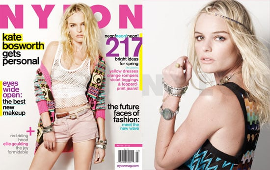 Pictures of Kate Bosworth on the March 2011 Cover of Nylon Magazine