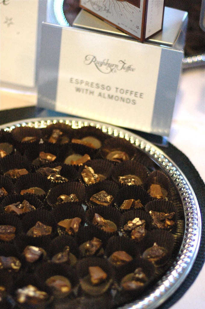 Want more than chocolate? Try this espresso toffee with almonds from Rushburn Toffee.