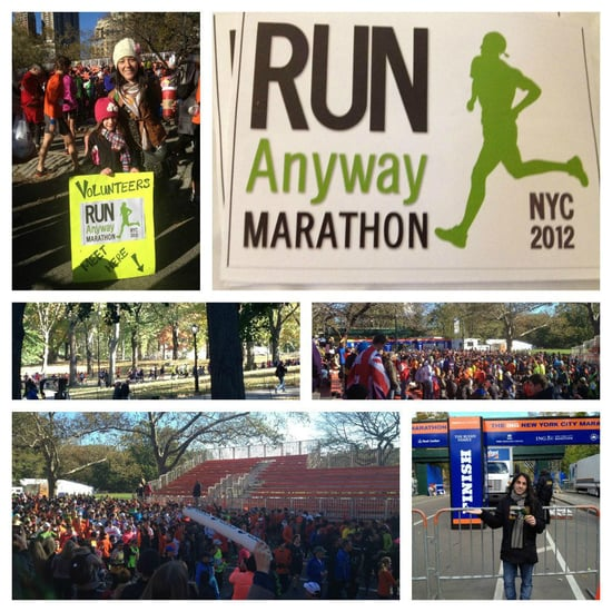 Runners Race and Volunteer on Day of New York City Marathon