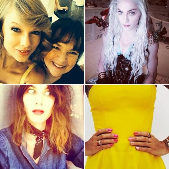 Celebrity Beauty Instagrams   March 19, 2014