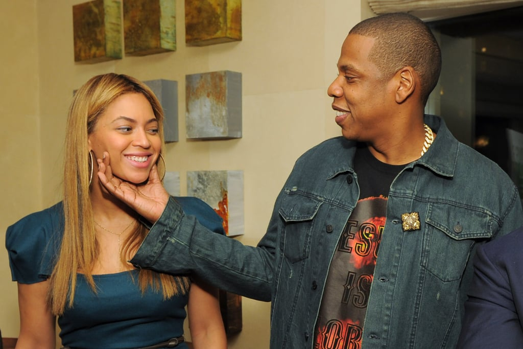 Beyoncé and Jay-Z showed PDA at a May 2012 party in NYC.