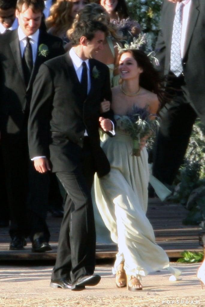In 2008, Rachel Bilson was a part of Josh Schwartz and Jill Stonerock's big day in Santa Barbara, CA.