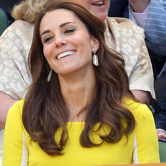 Kate Middleton at Wimbledon Photos July 2016