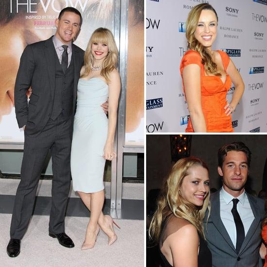 Channing, Rachel, Jessica and Scott Reunite For The Vow's LA Premiere