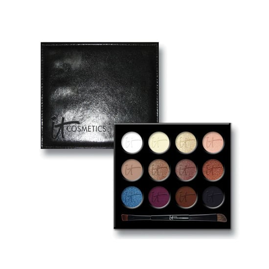 It Cosmetics is best known for its amazing brushes, but this Luxe High Performance Eye Shadow Palette has all the shades you need to create gorgeous eye makeup from day to night and everything in between.