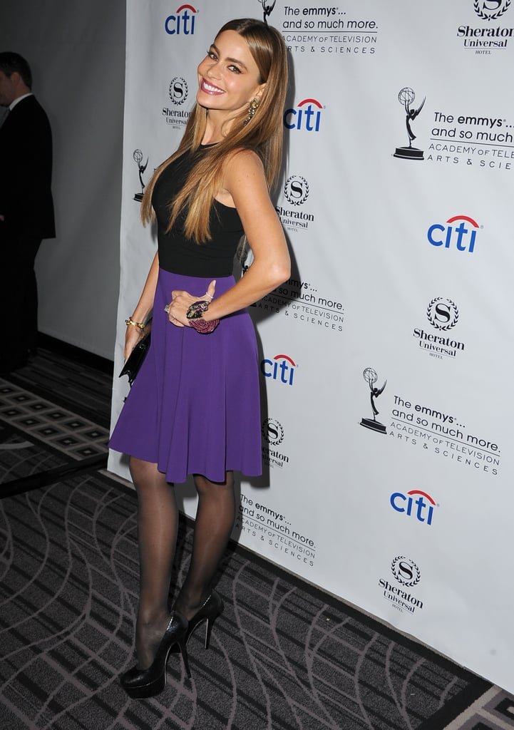 Sofia Vergara attended an Emmys cocktail party.