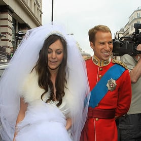 Not the Royal Wedding Party Information