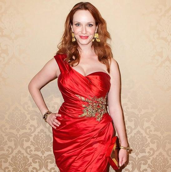 Christina Hendricks's Stylist's Search For Emmys Dress 2014