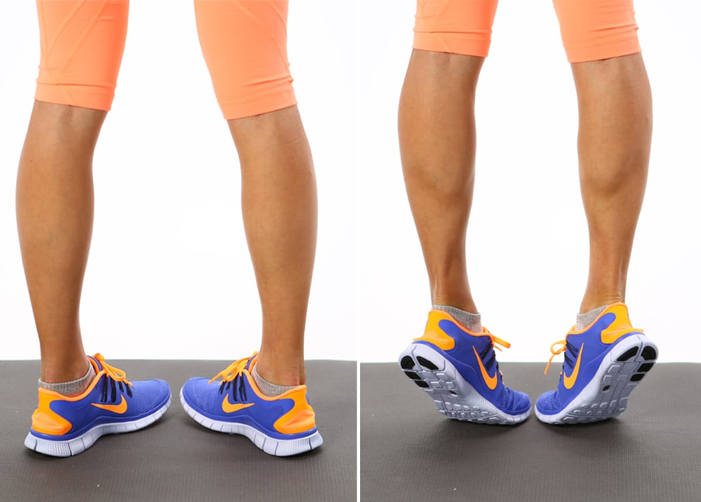 Shin Splints: Calf Raises — Internal Rotation