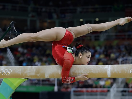 Emoji Smiley Face! Laurie Hernandez Takes Silver in Balance Beam as Simone Biles Takes Bronze After Fall