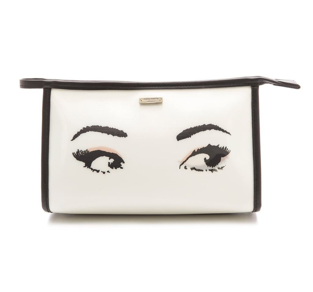 Got a gaggle of single gals in your bridal party? Remind them to get their flirt on Kate Spade's Cosmetic Case ($98).