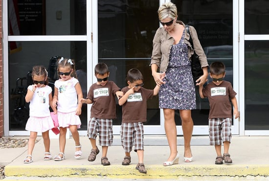 Photos of the Gosselin Sextuplets