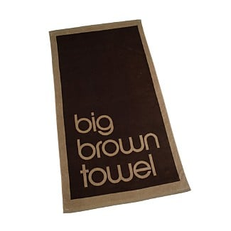 Big Brown Towel by Bloomingdale's