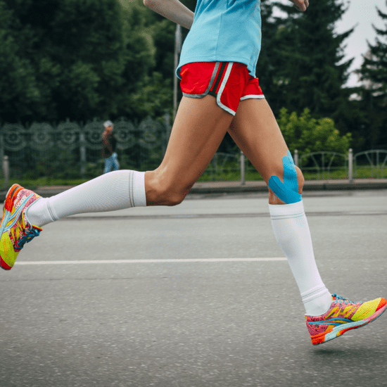 Compression Gear Improves Running Performance and Recovery