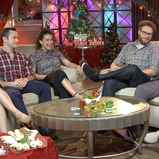The Night Before Cast Interview (Video)