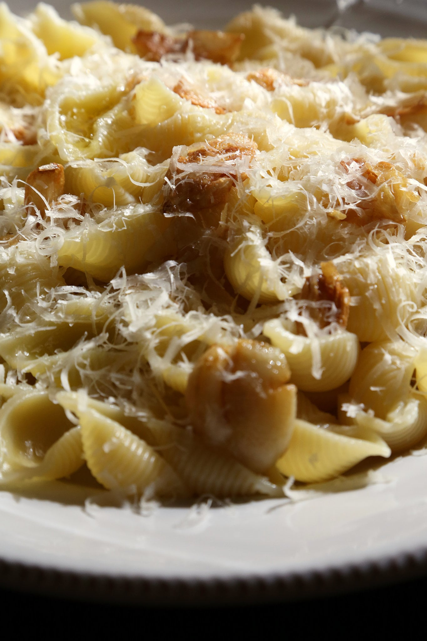 Caramelized Garlic and Parmesan Pasta