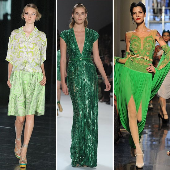 Spring 2012 Colour Report: Green With Envy