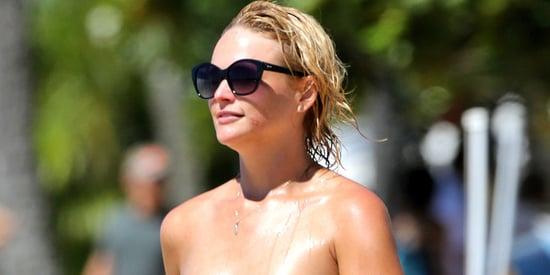 Miranda Lambert Enjoys A Bikini'd Beach Day In Hawaii