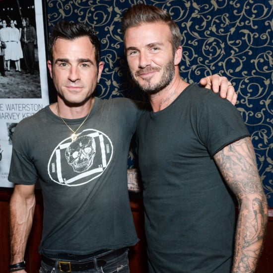 David Beckham Justin Theroux Outlaws Party Pictures