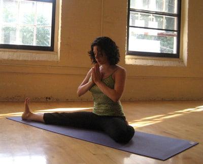 How to Do Beginner's Gate Yoga Pose